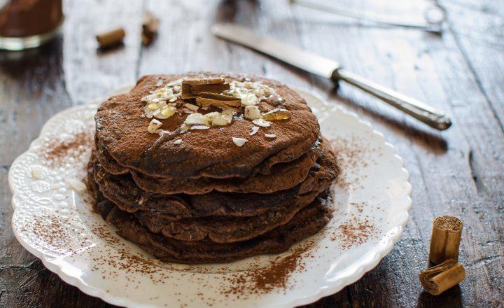 Pancake cioccolato e cannella