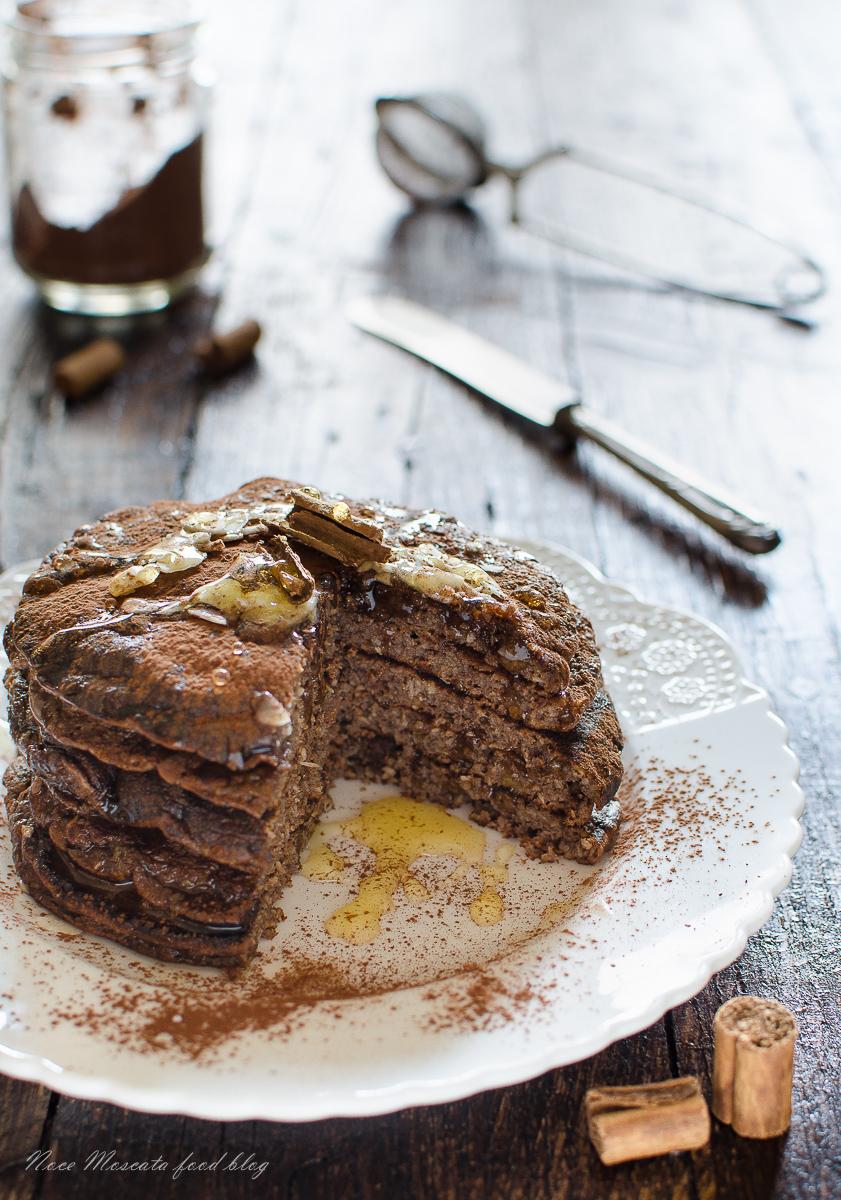 Pancake golosi cioccolato e cannella