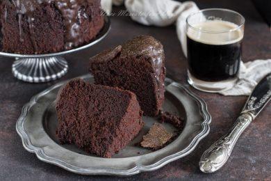 Torta al cioccolato e birra Guinness