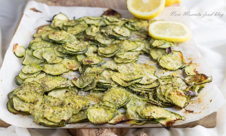 Zucchine al forno con pangrattato e limone