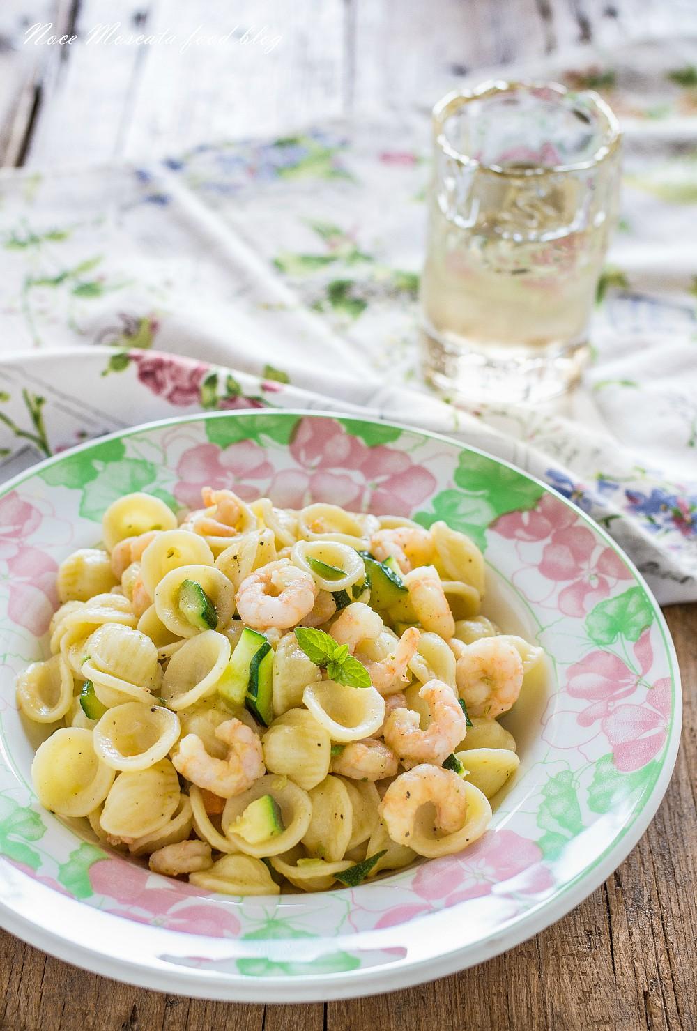 Orecchiette Zucchine e Gamberetti