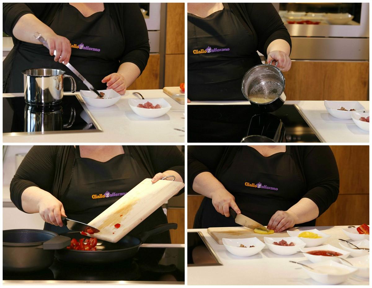 Frittura scientifica nel glucosio per Stosa Cucine