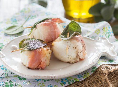 Saltimbocca di pesce al vino bianco e salvia