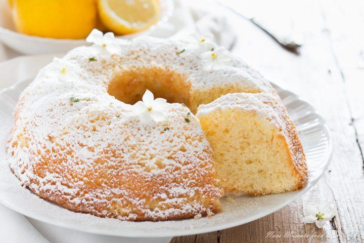 Ciambella al limone morbida