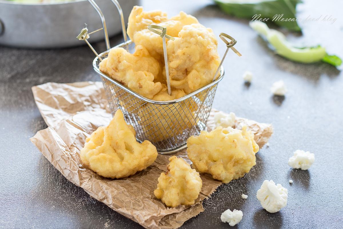 Frittelle di cavolfiore in pastella