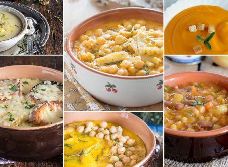 Ricette di minestre zuppe e vellutate