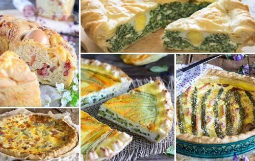 Torte salate per Pasqua e scampagnate