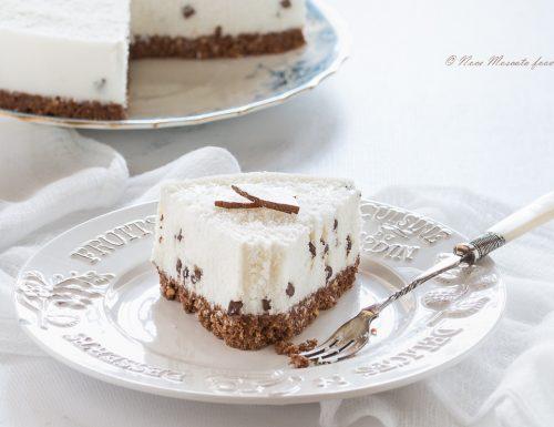 Torta fredda al cocco e yogurt