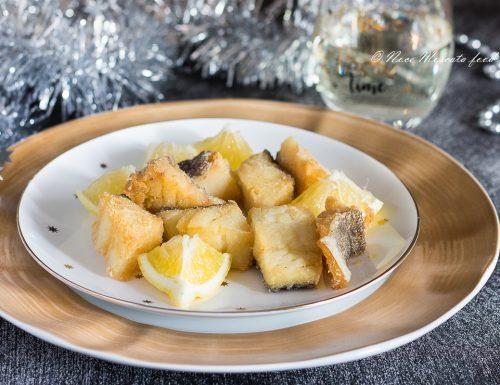 Baccalà fritto senza pastella