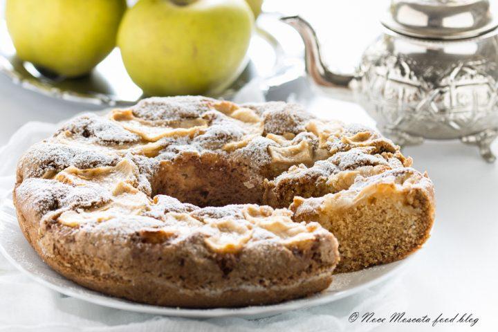Torta di mele senza lievito e uova