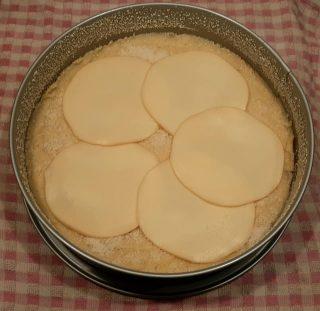 Gateau di patate con scamorza e prosciutto cotto