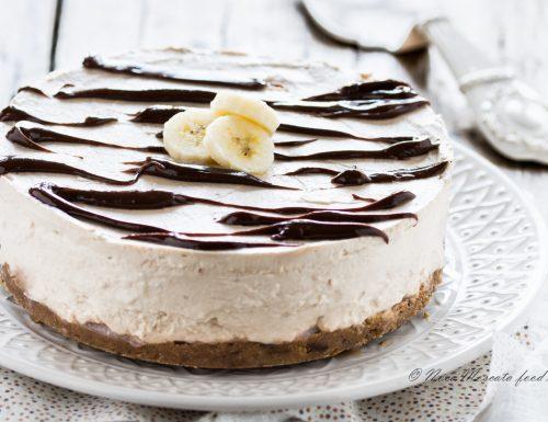 Cheesecake alla banana