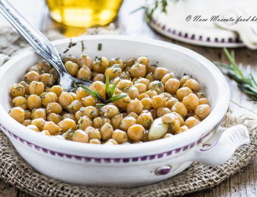 Ceci aglio olio e rosmarino