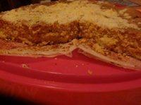 Torta di farina di mandorle e di riso