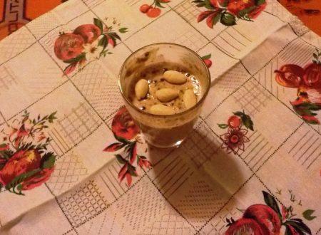 Finta crema pasticcera con orzo solubile