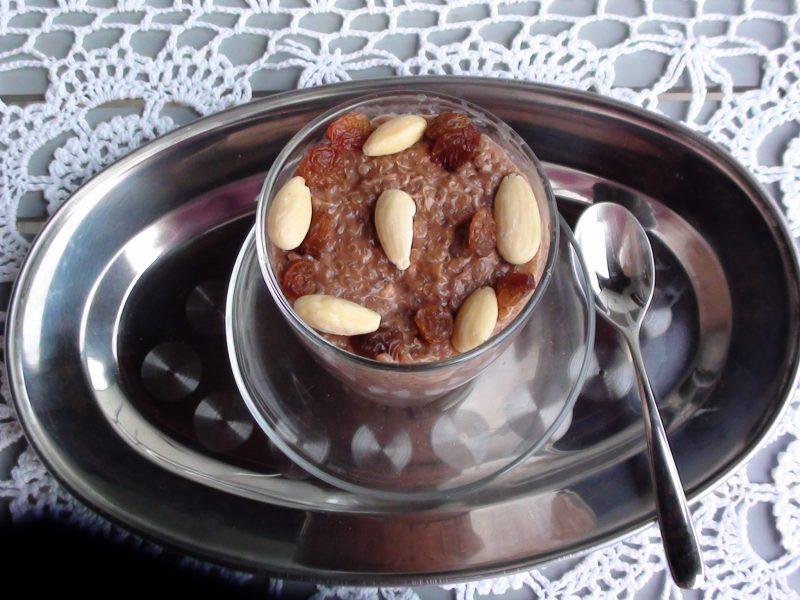 Crema di quinoa al cacao