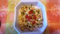 Gnocchi alla carbonara con le zucchine