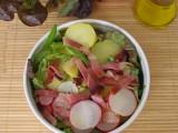 insalata sfiziosa con ravanelli e speck