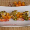 Gamberoni in crosta di pistacchi