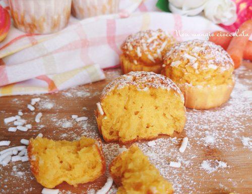 Muffin alle carote e ricotta
