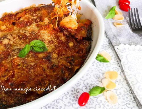 Orecchiette al forno con sugo di pomodorini e burrata
