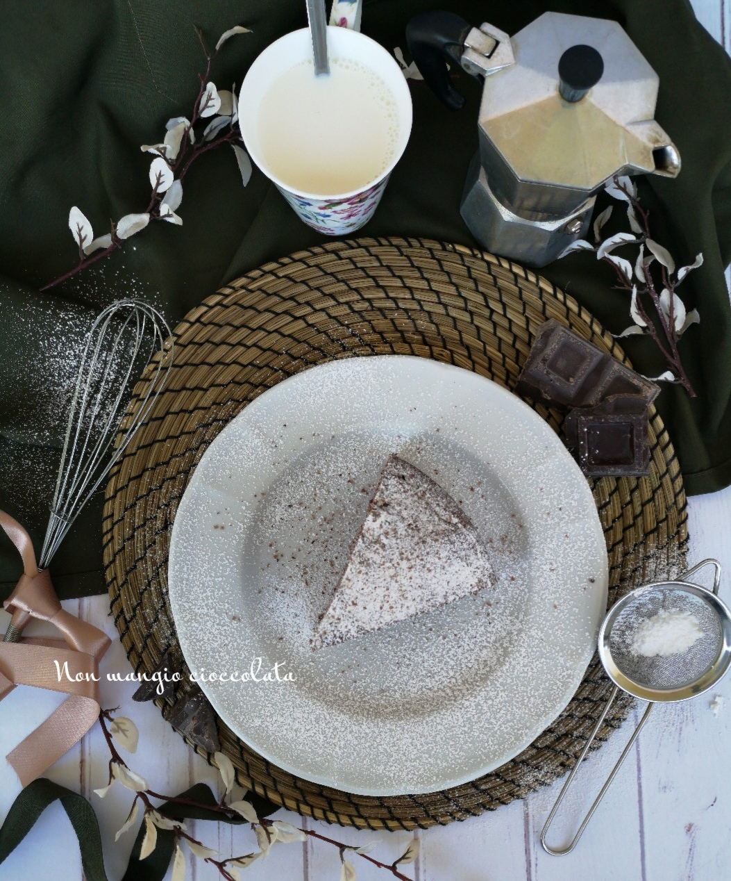 Torta cioccolatosa (ideale per la colazione)