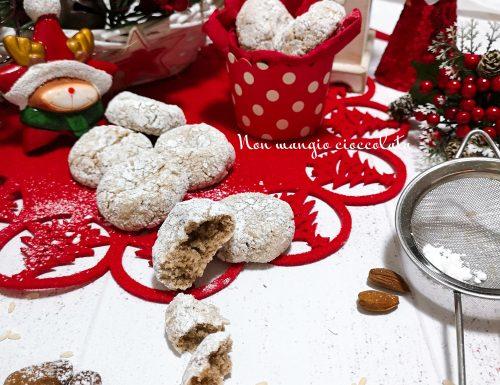 Biscottini con farina di riso e mandorle (ricetta di Natale)
