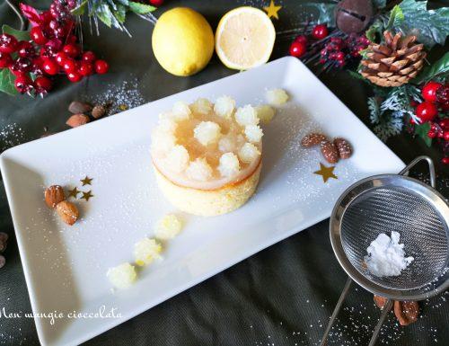 Caprese al limone con crema gluten free (ricetta di Natale)