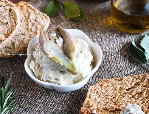 Crema di carciofi e yogurt greco
