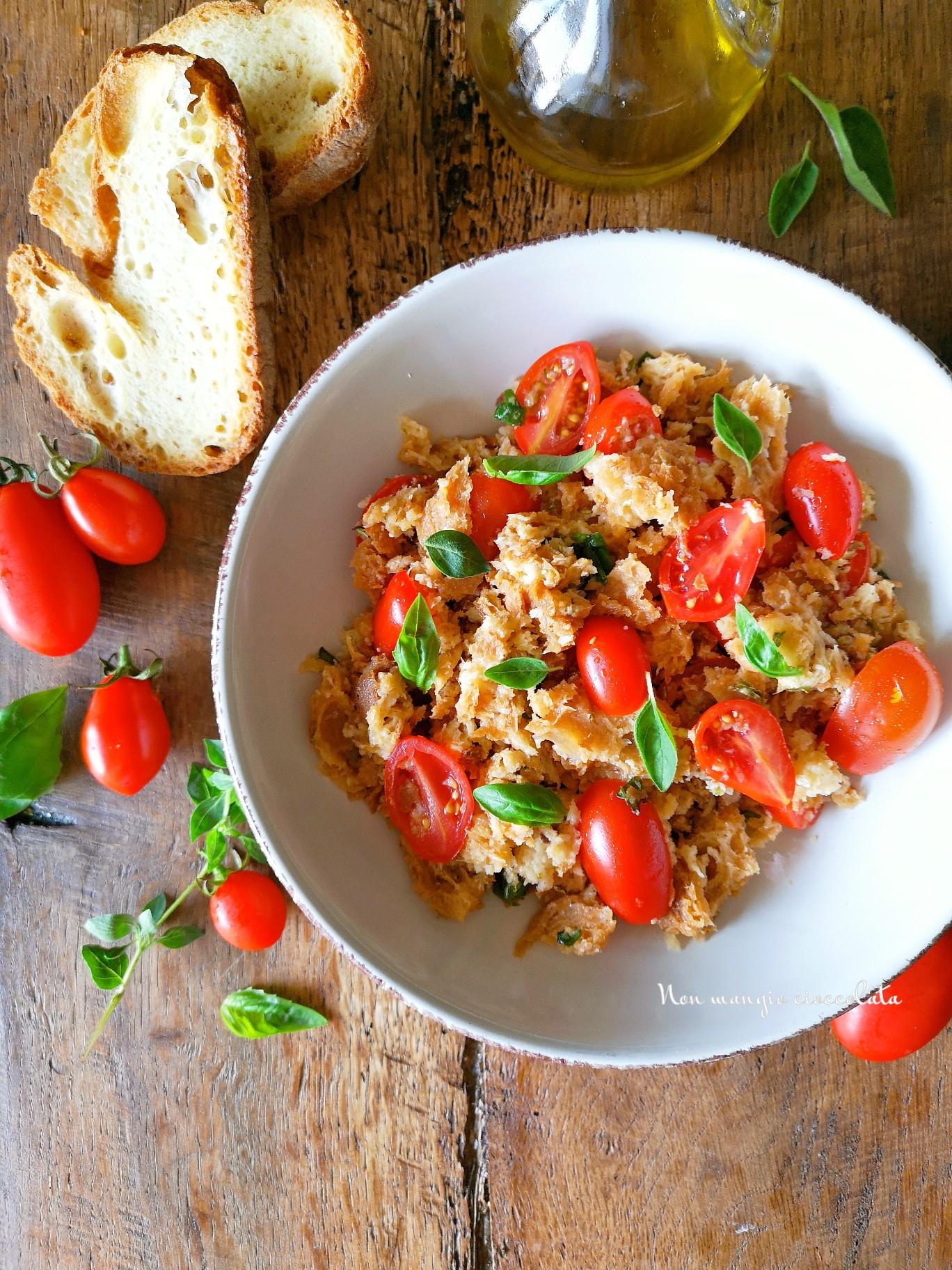 Cialda ai pomodorini e basilico