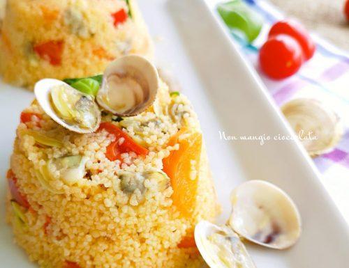 Couscous con verdure e vongole