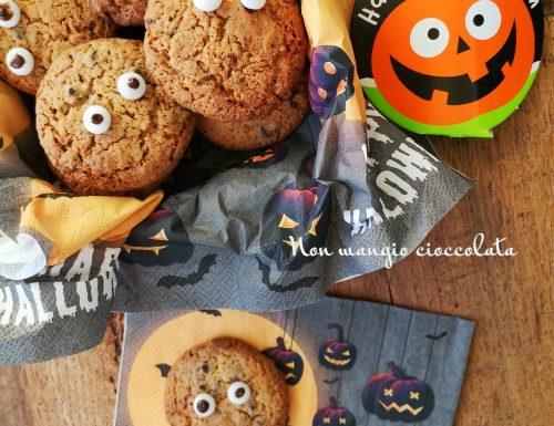 Cookies con gocce di cioccolato e cereali (ricetta halloween)