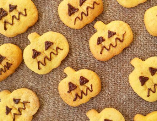 Biscotti di zucca (ricetta di Halloween)