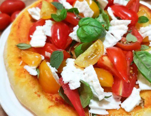 Pizzetta dell'orto con feta