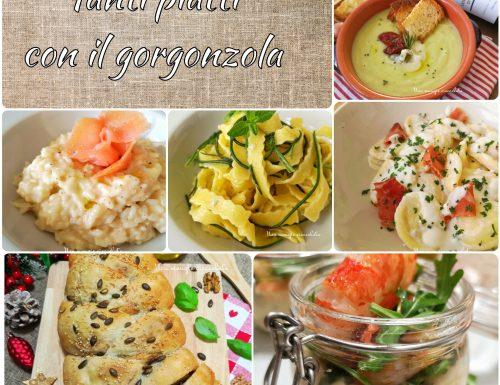 Tanti piatti con il gorgonzola