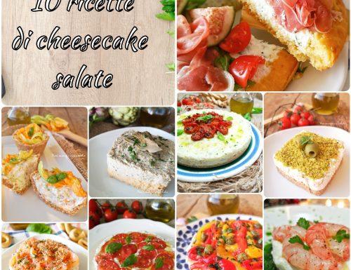 10 ricette di cheesecake salate