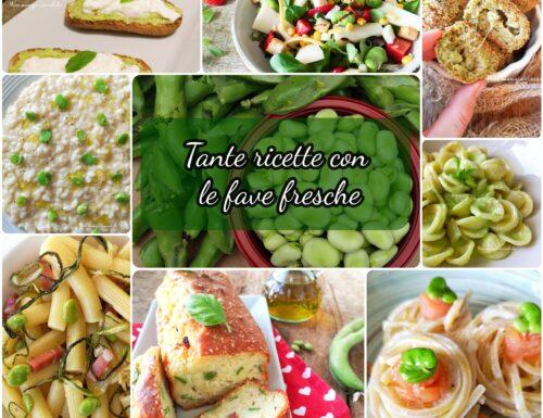 Tante ricette con le fave fresche