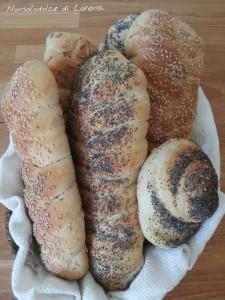 Panini con semini vari (con lievito madre)