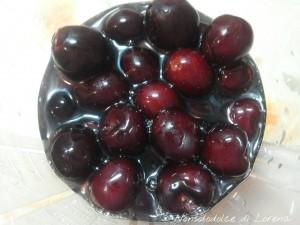 Gelato - sorbetto di ciliegie