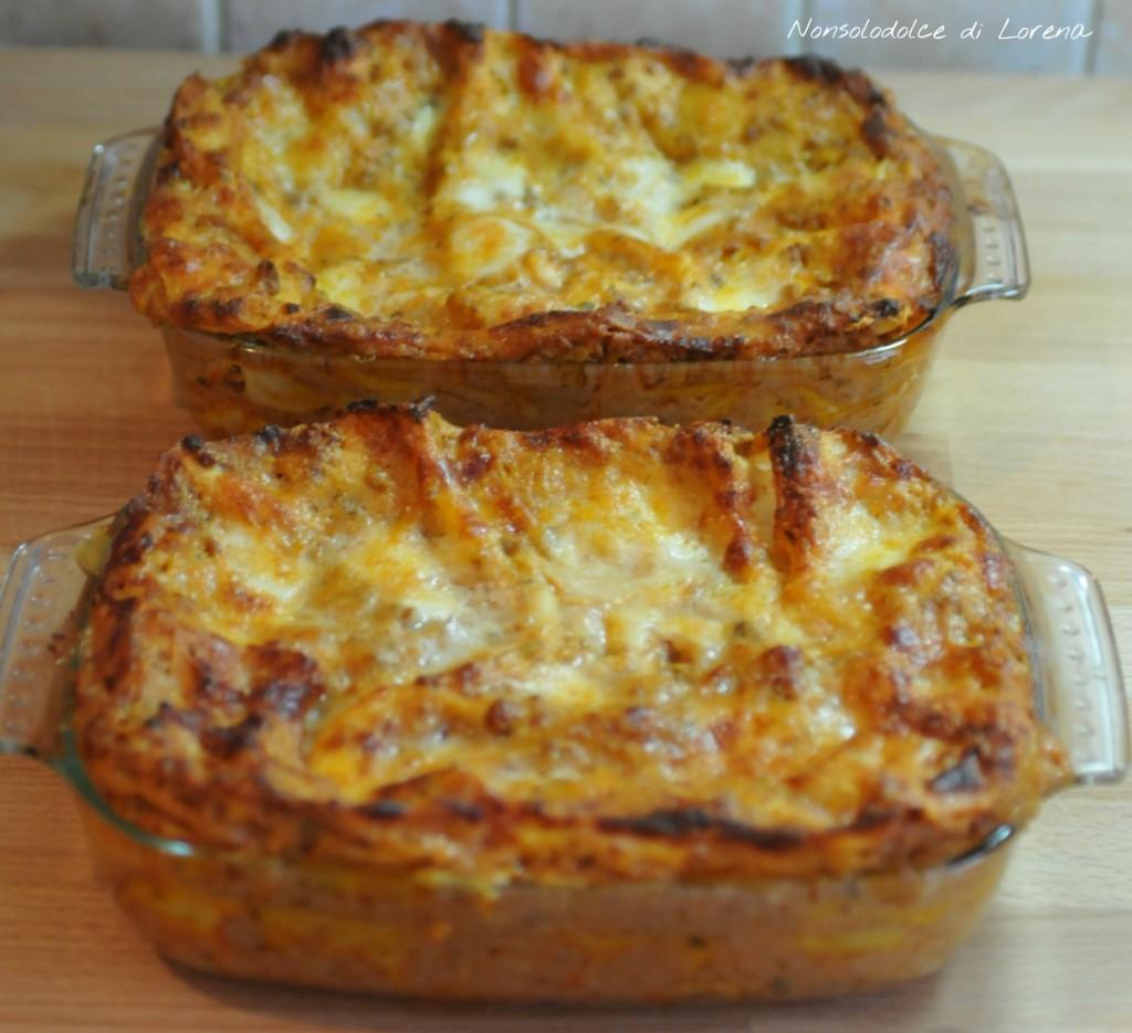 Lasagne al forno   Nonsolodolce di Lorena