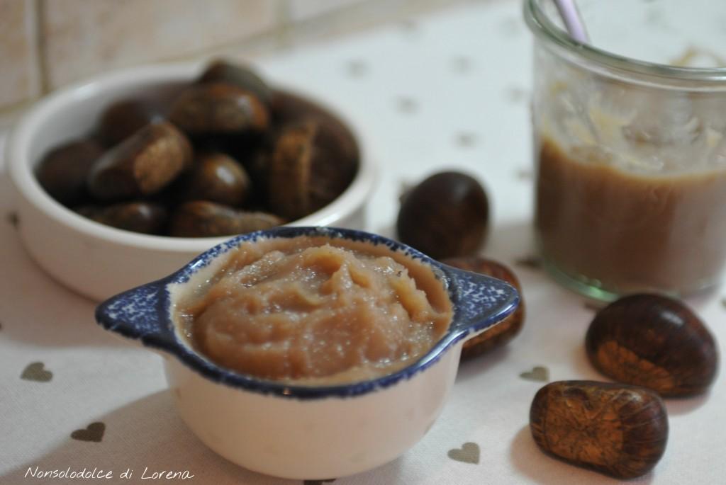 Crema (marmellata) di castagne alla vaniglia