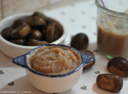 Crema di castagne alla vaniglia (marmellata)