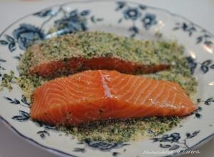 Filetto di salmone alle erbe aromatiche