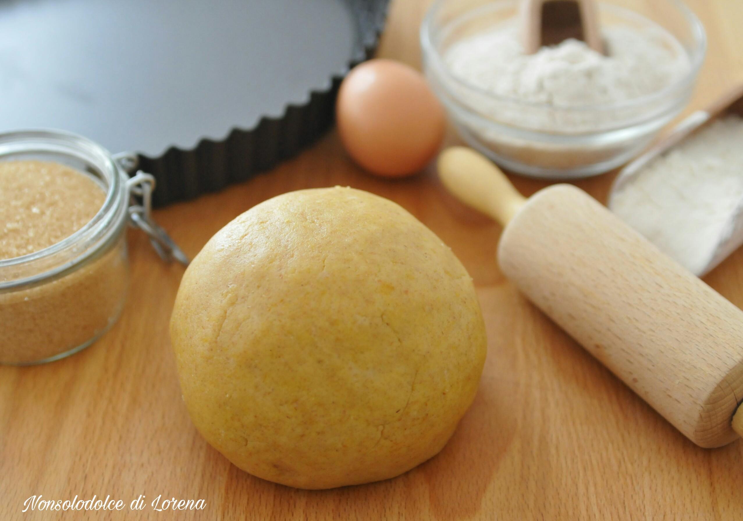 Pasta frolla rustica con farina di farro