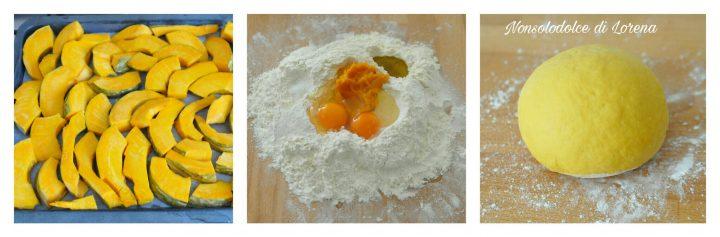 Tagliatelle alla zucca (pasta fresca)