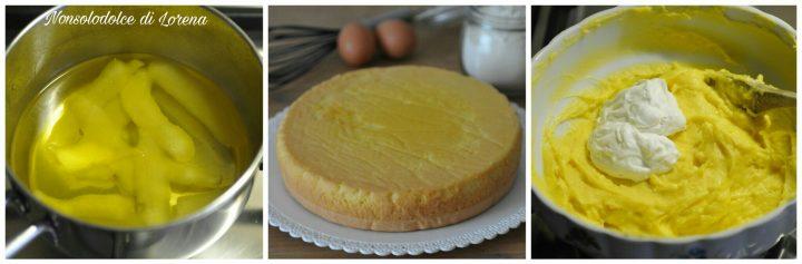 Zuccotto con crema al limone e panna