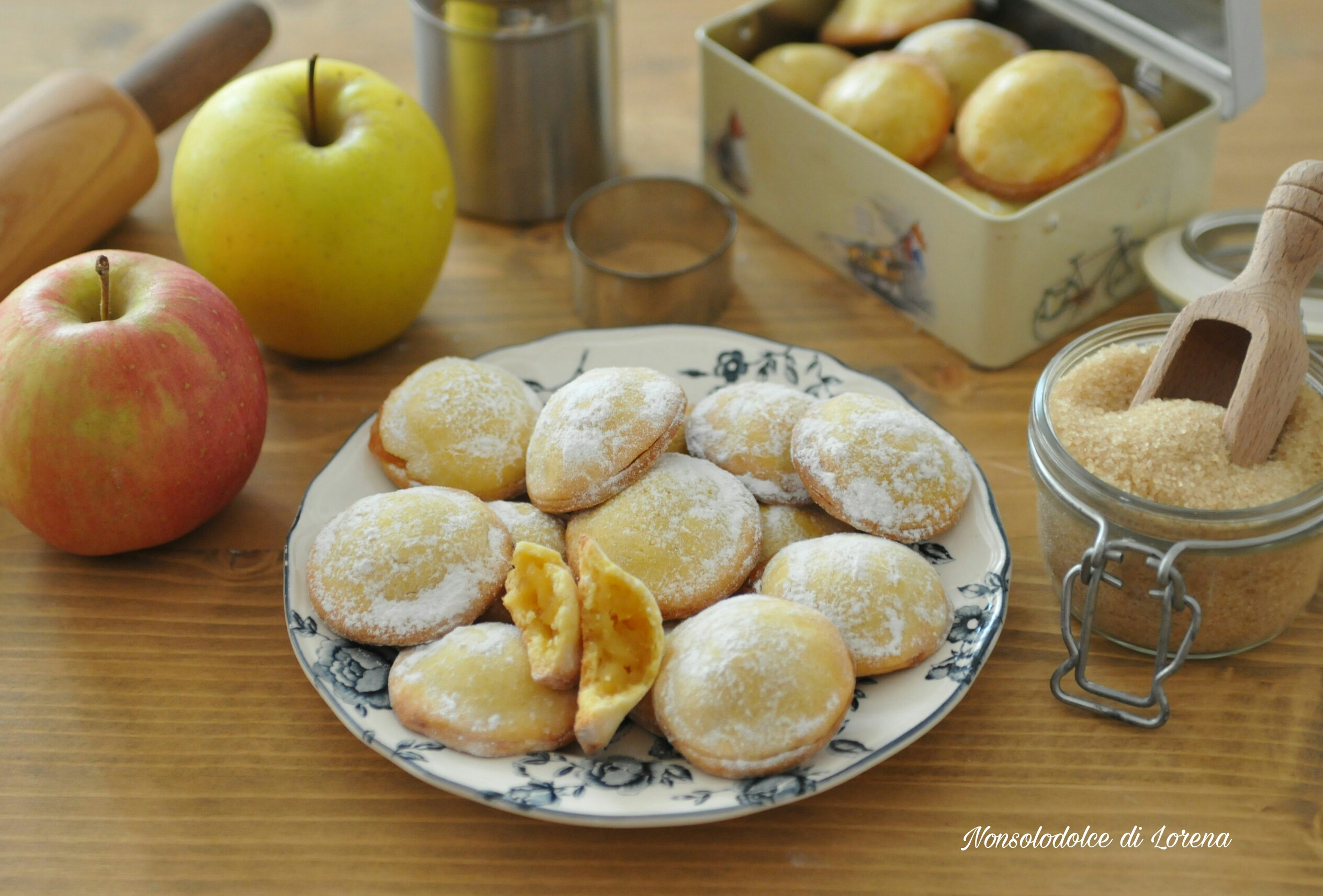 Ricetta Biscotti cuor di mela