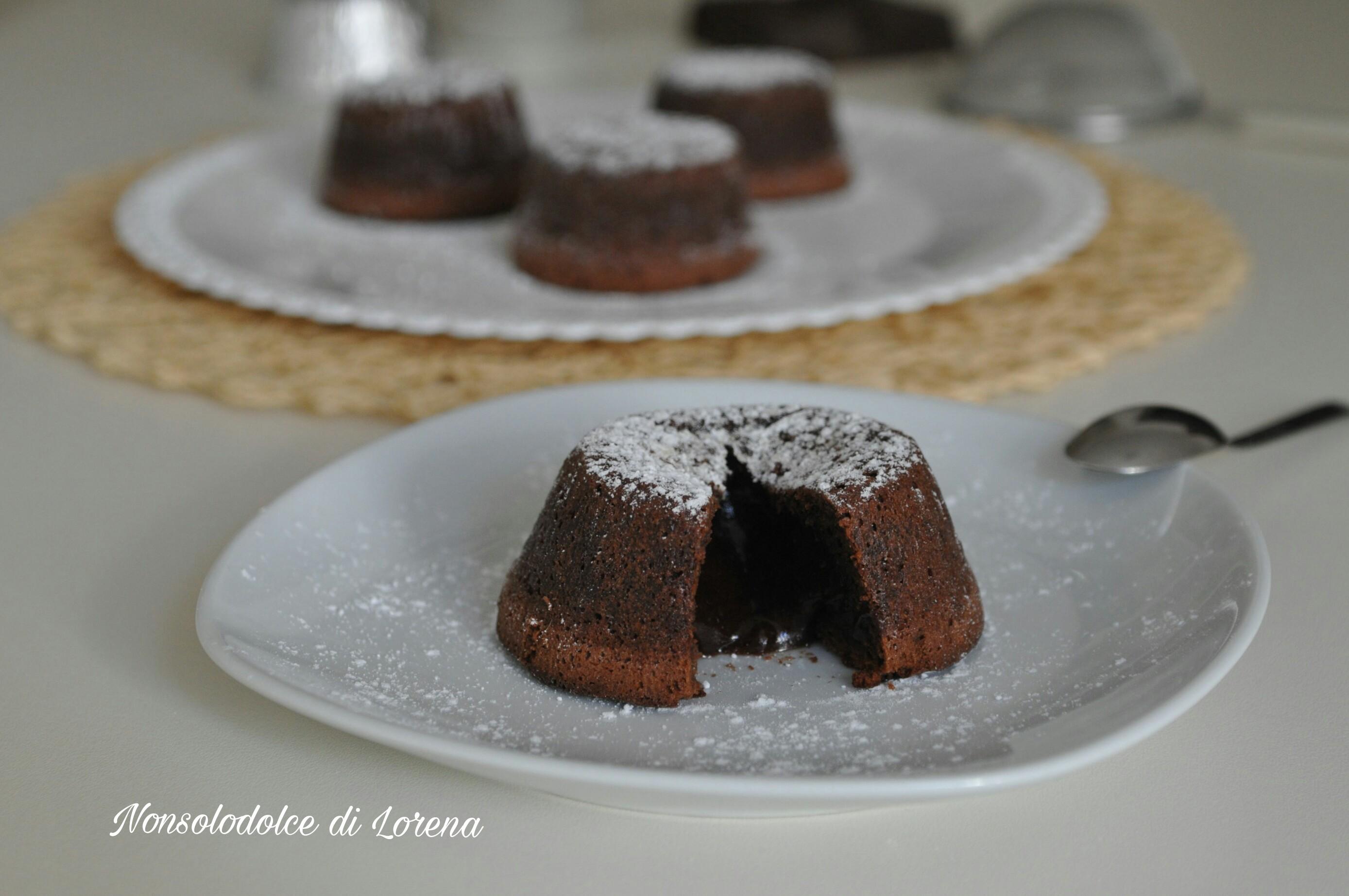 Tortini al cioccolato fondente dal cuore morbido