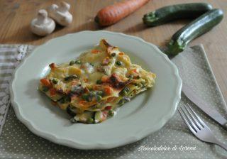 Lasagne vegetariane al forno