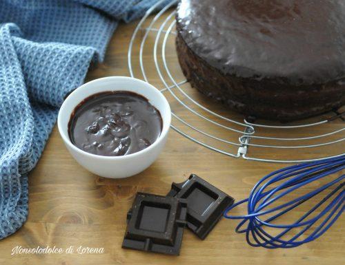 Ganache al cioccolato (da copertura)
